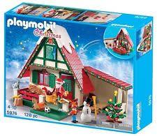 maison du pere noel playmobil playmobil maison 5755 père noël ebay