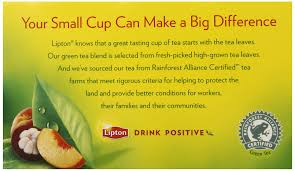 100 Green Tea House Alliance Lipton White Mangosteen With Peach 20count Pack Of6