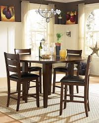 Round Dining Room Sets With Leaf by Homelegance Ameillia Round Counter Height Drop Leaf Table 586 36rd