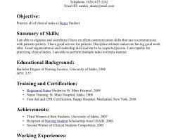 Cover Letter For Nursing Student Resume 9 best lpn resume images