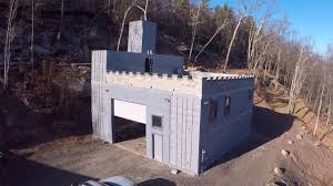 Building A Shipping Container Castle - YouTube Foundation Options For Fabric Buildings Alaska Structures Shipping Container Barn In Pictures Youtube Standalone Storage Versus Leanto Attached To A Barn Shop Or Baby Nursery Home With Basement Home Basement Container Workshop Ideas 12 Surprising Uses For Containers That Will Blow Your Making Out Of Shipping Containers Any Page 2 7 Great Storage Raising The Roof Tin Can Cabin Barns Northern Sheds Fort St John British Columbia Camouflaged Cedar Lattice Hidden