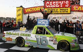 Brett Moffitt Claims Hometown Win In NASCAR Truck Series Arca Champs Briscoe And Enfinger Duel In Nascar Trucks Race At Xfinity Series Gander Outdoors Truck Return 2018 Camping World Race Winners Nascarcom Ryan Truex To Full Schedule 2017 Auto Racing 2014 Season Review Motsportstalk Set Take On High Banks Of Bristol Sports Sets Stage Lengths For Every Cup Christopher Bell Finishes Off Dominant Win Atlanta The Old Mosport Gets Truck My Cars Five Drivers Who Should Run At Eldora
