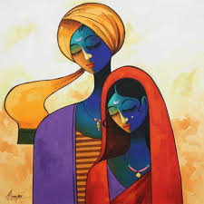 19 Best India Images On Pinterest Indian Paintings Painting Art Modern
