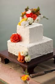 This Classic Square Cake With Stucco Like Butter Cream Icing Is Perfect For A Tuscan Mexico Destination WeddingsWedding DestinationsMexico
