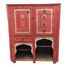 Vintage Hand Painted Moroccan Armoire - Design Plus Gallery Jewelry Armoires Fniture Kohls 104 Best Moroccan Fniture Images On Pinterest 24 Antique Wardrobes Armoire Old Door Antique Doors Tall Moroccan Pierced Polished Brass Incense Burner Wall Ideas Mounted Mirror Mount Faux Bamboo Jayson Home West Elm Morocco Headboard Design White Wardrobe Bedroom Inspired Chandelier By Art Of India Dallas District Viagerattanburntbambooarmoire3741
