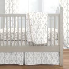 taupe arrow crib bedding carousel designs