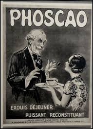 Original Art Deco French Ad Phoscao Cocoa 1933 By Reveriefrance On Etsy