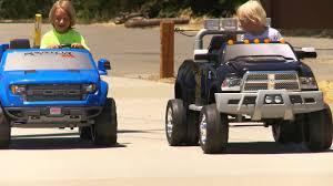 100 Power Wheel Truck S Sidewalk Race YouTube