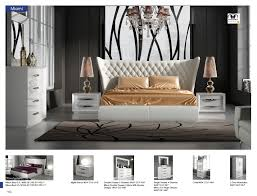 100 Miami Modern 5 Piece Bedroom Set Made In Spain USA Furniture Warehouse