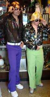Disco Dudes Costumes 60s And 70s Afros Angel Flight Pants