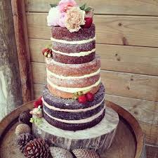 Rustic Wedding Cake At Sudburynz