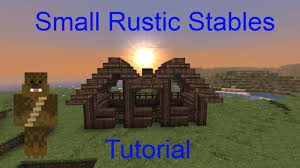 Minecraft Small Rustic Stables Tutorial - YouTube Jgrtcnitfbnjt On Twitter Minecraft Tutorial How To Build A Minecraft Farm Idea Google Search Pinterest To A Horse Barn Youtube Part 1 Complex Small House Medieval Make Police Car Building House Modern In Youtube Arafen Gaming Xbox Xbox360 Pc House Home Creative Mode Mojang How Build Tutorial Easy Cow Gothic