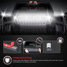 Truck Bed Light Best Truck Bed Lights 2017 Partsam Amazoncom Genuine Ford Fl3z13e754a Led Light Kit Rear Rugged Liner F150 With Cargo Without How To Install Cabin Switch Youtube Fxible Strip Truck Bed Lights F150online Forums 8 White Rock Pods Lighting Xprite 60 2 Strips Rail Awning Truxedo Blight Tonneau System Free Shipping 200914 Ingrated Full F150ledscom Magnetic Under The Lux Systems Led For Of Decor Kit Chevyoffroading