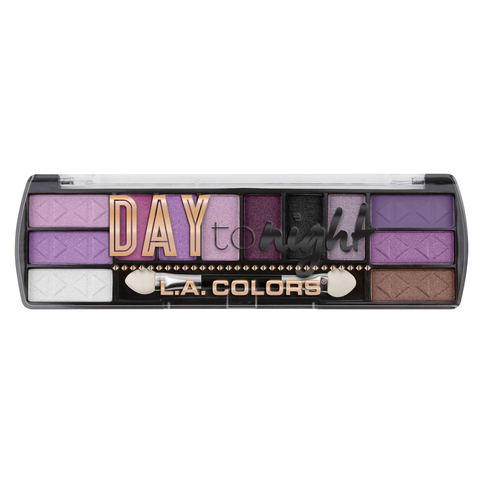 La Colours Day To Night­ Eyeshadow Palette - ­Twilight