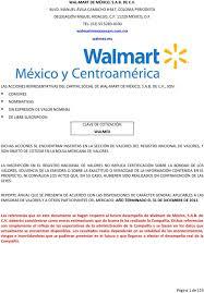 WALMART DE MÉXICO SAB DE CV PDF