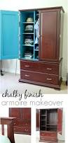Americana Decor Chalky Finish Paint Tutorial by Diy Chalky Finish Armoire Create Celebrate Explore