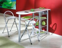 table de cuisine haute avec tabouret trendy table bar avec tabouret set de 1 et 4 tabourets noir chaise