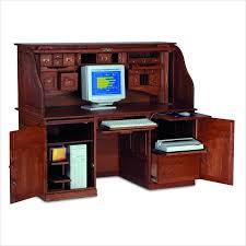 Techni Mobili Computer Desk With Storage by Aspect Design Computer Desk With Two Storage Shelves Computer Desk