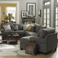beautiful sectional sofa with cuddler chaise sofa ideas