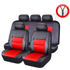 100 Truck And Van Accessories Universal Car Seat Covers Leather Airbag Blue For Car