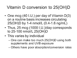 vitamin d requirements for optimal health ppt download