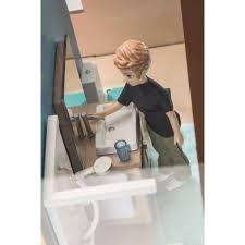 djeco puppenhaus möbel badezimmer