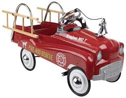 Kids Red Fire Truck Pedal Car Kids Classic And 50 Similar Items