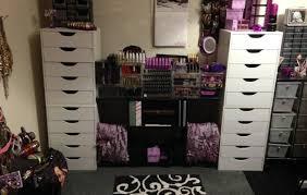 Vivianna Does Makeup Ikea Desk by Thrilling Design Drawer Slide Covers Epic Pinske Drawer Notcher