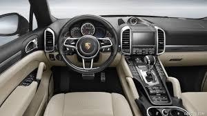 2016 Porsche Cayenne Turbo S Interior Cockpit