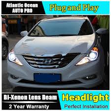 auto pro 2011 2014 for hyundai sonata 8 headlights q5 bi xenon