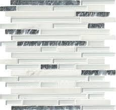 msi cristallo interlocking random sized glass mosaic tile in