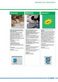Mapei Porcelain Tile Mortar Mixing Instructions by Catalog Brosura Mortare Materiale Speciale Mapei Mapei Mapei