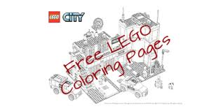 Lego Coloring Pages And Dot To