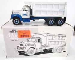 1/34th First Gear 1960 Mack B-61 Dump Truck