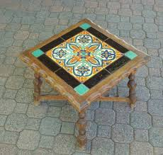 44 best vintage tile tables images on tile top tables