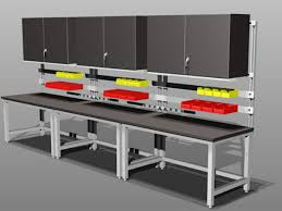 Workbench Furniture Interior Home Design For Work Benches With Storage Decorating