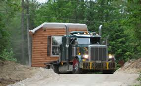 Delivery | Cabins | Log Home Kits | Modular Homes | Zook Cabins