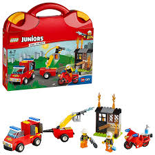 LEGO 10740 Juniors Fire Patrol Suitcase: LEGO: Amazon.co.uk: Toys ... Lego City Fire Station 60110 Lets Build Youtube Creator Mini Truck 6911 Brick Radar Debuts New 1166piece Winter Village To Get You Lego Speed How The Firetruck Moc Littlebird Your Own Adventure Collections Up 56 Off Fire Truck Toys R Us Canada 10740 Juniors Patrol Suitcase Amazoncouk Airport Review Truthfulnerd Wooden Vehicle Cstruction Set Educational