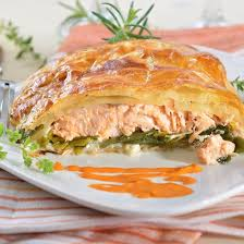 comment cuisiner du saumon surgelé recette feuilleté de saumon