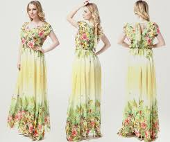 unomatch women printed decorated bust long pleated plus size gown
