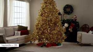 Evergleam 6 Aluminum Christmas Tree by Classic Champagne Gold Full Pre Lit Christmas Tree Product