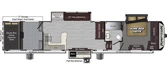 2008 Montana 5th Wheel Floor Plans by Raptor