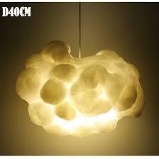 abat jour chambre gar輟n creative cloud suspension pendentif lumière décoration hanging