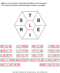 Make Words using Letters T B E I R S L Worksheet Turtle Diary