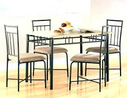 Kitchen Table Set Walmart And Chairs Round Dining At Metal With 4