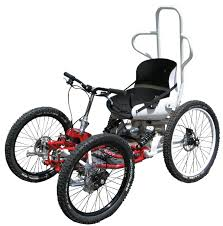 fauteuil tout terrain electrique buggy bike