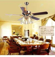 Ceiling Fan Dining Room Art Copper Shade Living Lights