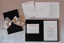 Elegant Winter Wedding Invitations