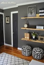 How To Decorate Living Room Wall Shelves