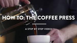 Starbucks How To Brew A Coffee Press